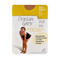 Pantimedia DG Lycra Super Talla  Natural  Chica - Sanborns
