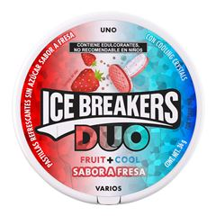 Ice Breaker Fresa Duo 36 gramos - Sanborns