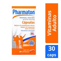 Pharmaton cap.c/30 - Sanborns