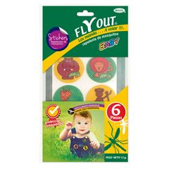 Fly Out Baby Repelente De Insectos Stickers - Sanborns