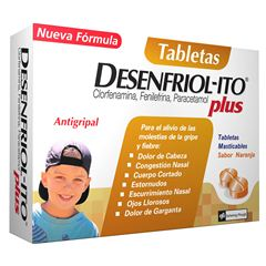 Desenfriolito Plus Tabletas Masticables - Sanborns