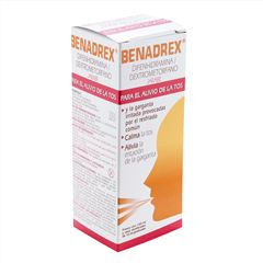 Benadrex jarabe 150 ml - Sanborns