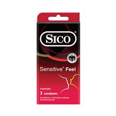 Sico® Sensitive® Feel 3 Pack - Sanborns