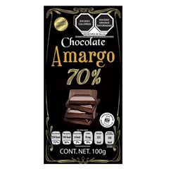 Chocolate Holex Amargo S/ Azúcar 70% - Sanborns