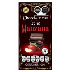 Chocolate Holex Leche Manzana S/Azu - Sanborns