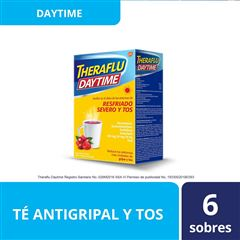 Theraflu Daytime Sabor Frutos del Bosque - Sanborns