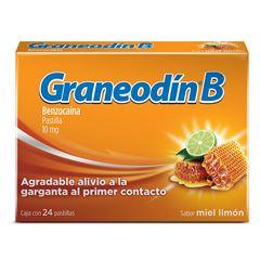 Graneodin-B Miel-Limón 24 Pastillas - Sanborns