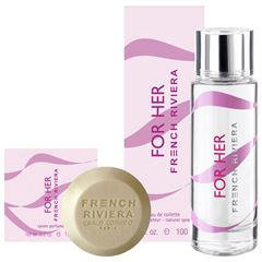 Fragancia Para Dama , Set French Riviera For Her EDT 100 ML - Sanborns
