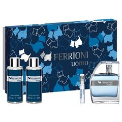Fragancia Caballero, Set Navidad Ferioni Uomo EDT 100 ML - Sanborns