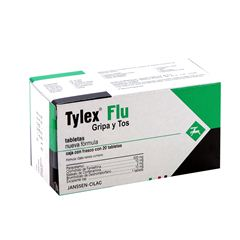 Tylex Flu 20 Tabletas - Sanborns