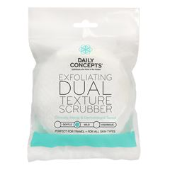 Esponja Exfoliante de Doble Textura Daily Concepts - Sanborns