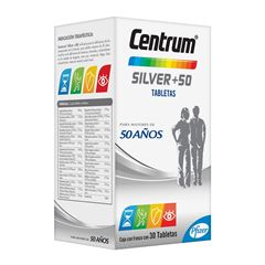 Centrum-silver tab 30 - Sanborns