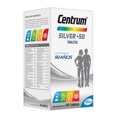 Centrum Silver 100 Tabletas - Sanborns