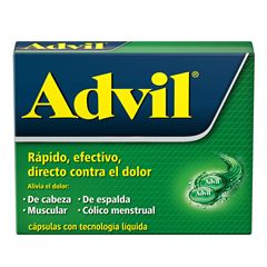 Advil Fastgel Con 10 200mg - Sanborns