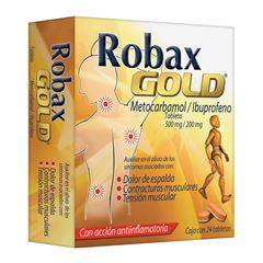 Robax Gold 24 Tabletas - Sanborns