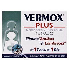 Vermox Plus - Sanborns