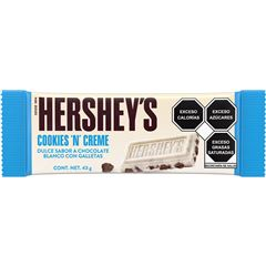 Barra de Chocolate Cookies N´Creme Hershey´s 43 g - Sanborns
