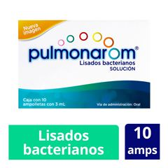 Pulmonar om amp 10x3 ml - Sanborns