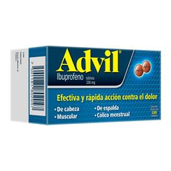 Advil 200 mg grag 100 - Sanborns