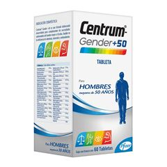 Centrum Gender +50 Hombres - Sanborns