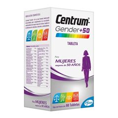 Centrum Gender +50 Mujer - Sanborns