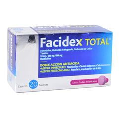Facidex Total Sabor Frutos Tropicales - Sanborns