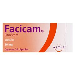 Facicam 20 mg. Cap. C/20 - Sanborns