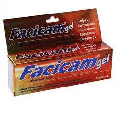 Facicam gel tub.40gr. - Sanborns