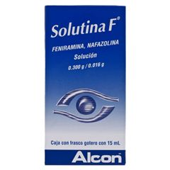 Solutina F Gotas 15 ml - Sanborns