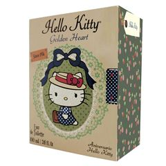 Hello Kitty Eau de Toilette Golden Heart IM - Sanborns