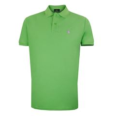 Playera Polo Club Mc Pique Algodón Gd Limón - Sanborns