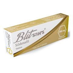 Blitsons 100 mg con 4 Tabletas - Sanborns