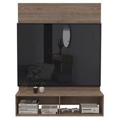 Panel de TV Excelsior Ravena Color Miel Armable - Sanborns