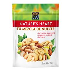 NATURE´S HEART - TU MEZCLA DE NUECES 300 GR - Sanborns