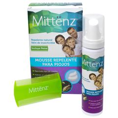 Mousse Repelente para Piojos 60 ml Mittënz - Sanborns
