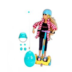Muñeca con Scooter Scate Radio Control Smart Girls - Sanborns