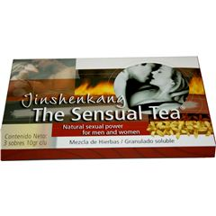 The Sensual Tea Jinshen 3sobres/10gr. - Sanborns