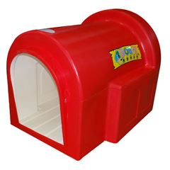 Casa para Perro Huge Doggy House Roja - Sanborns