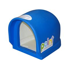 Casa para Perro Mini Point Doggy House Azul - Sanborns
