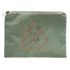 Bolsa Art Home con cierre color verde - Sanborns