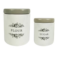 Tarros sugar & flour Art Home - Sanborns