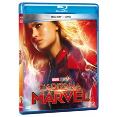 BR/DVD Capitana Marvel Combo - Sanborns