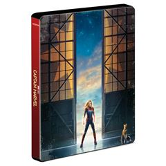 BR/DVD Combo Capitana Marvel - Sanborns