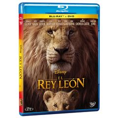 Combo BluRay + DVD El Rey León - Sanborns