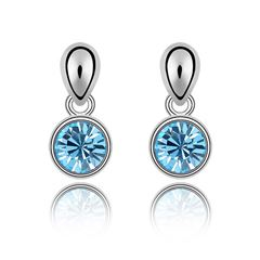 1 Par de Aretes / OH15-387 / Moonlight Crystals - Sanborns