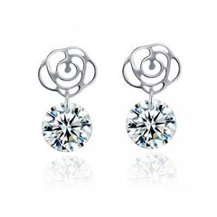 1 Par de Aretes / OH15-475 / Moonlight Crystals - Sanborns
