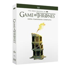 Blu Ray Game Of Thrones Temporada 6 - Sanborns
