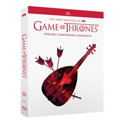 DVD Game Of Thrones Temporada 3 - Sanborns