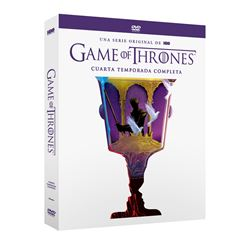 DVD Game Of Thrones Temporada 4 - Sanborns