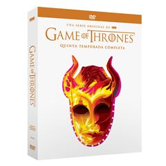 DVD Game Of Thrones Temporada 5 - Sanborns